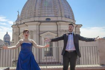 Opera, Arias of Verdi, Rossini and Puccini on Terrazza Borromini in Rome